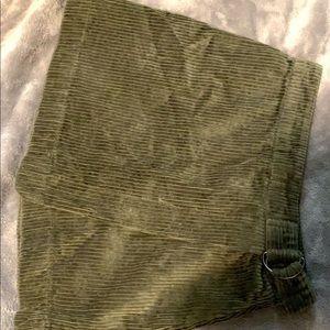 Dresses & Skirts - super cute olive green skirt